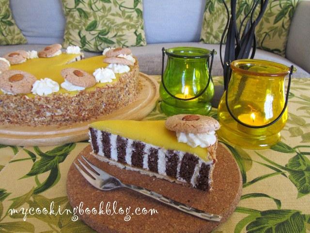 Бадемова торта с Амарети