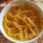 Пюре от картофи с червен пипер