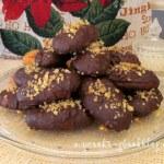Меломакарона със шоколад
