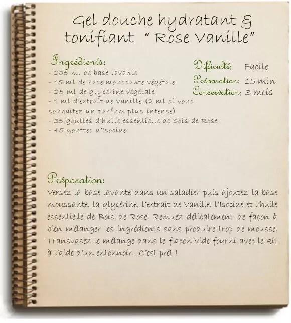 Fabriquer Son Gel Douche Maison Tonifiant La Vanille