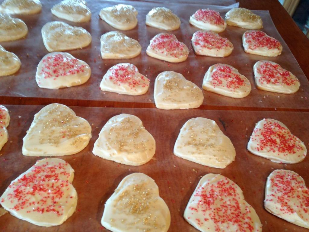 Valentine Butter Cookies - 14