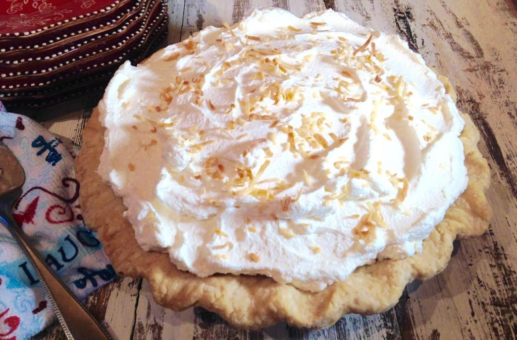 coconut cream pie - 30