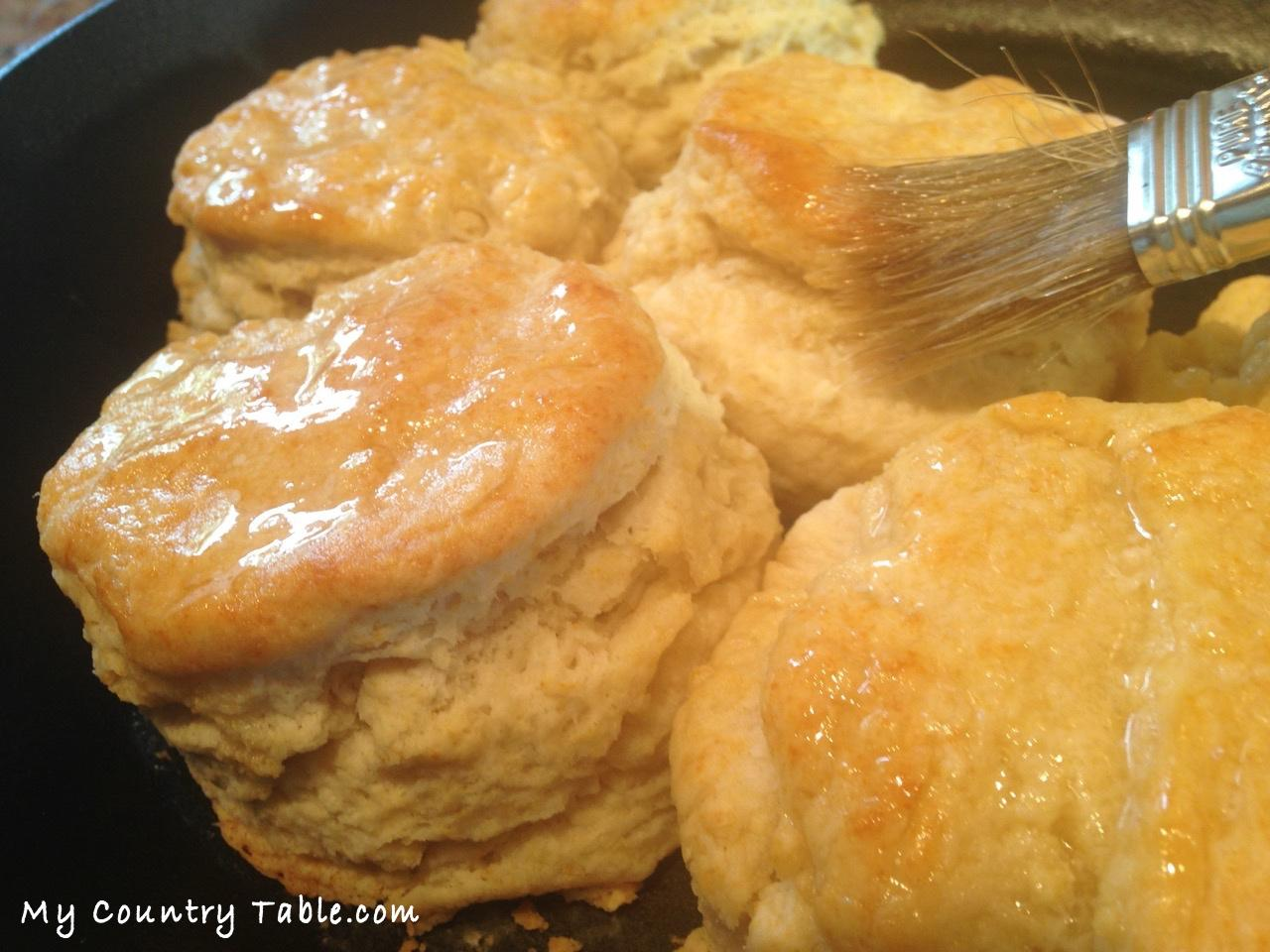 Big and Soft Buttermilk Biscuits