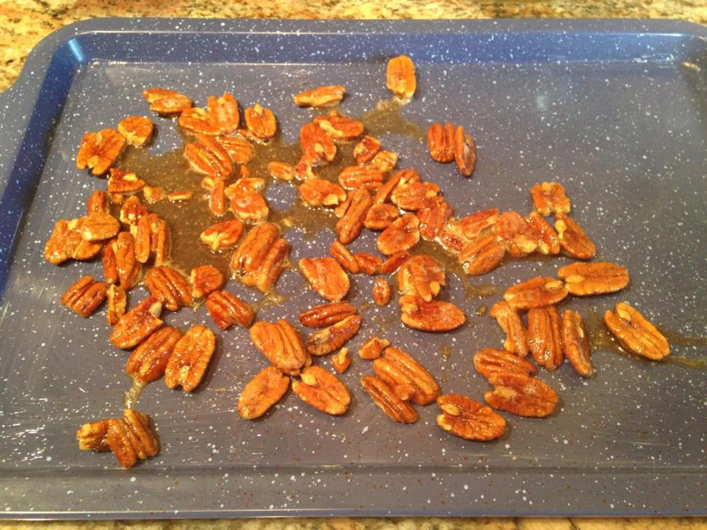 Pumpkin Spiced Toasted Pecans - 5