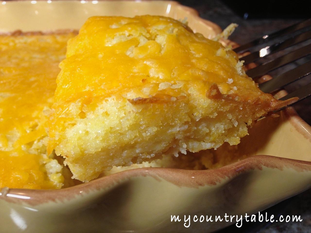 Corn Pudding Casserole