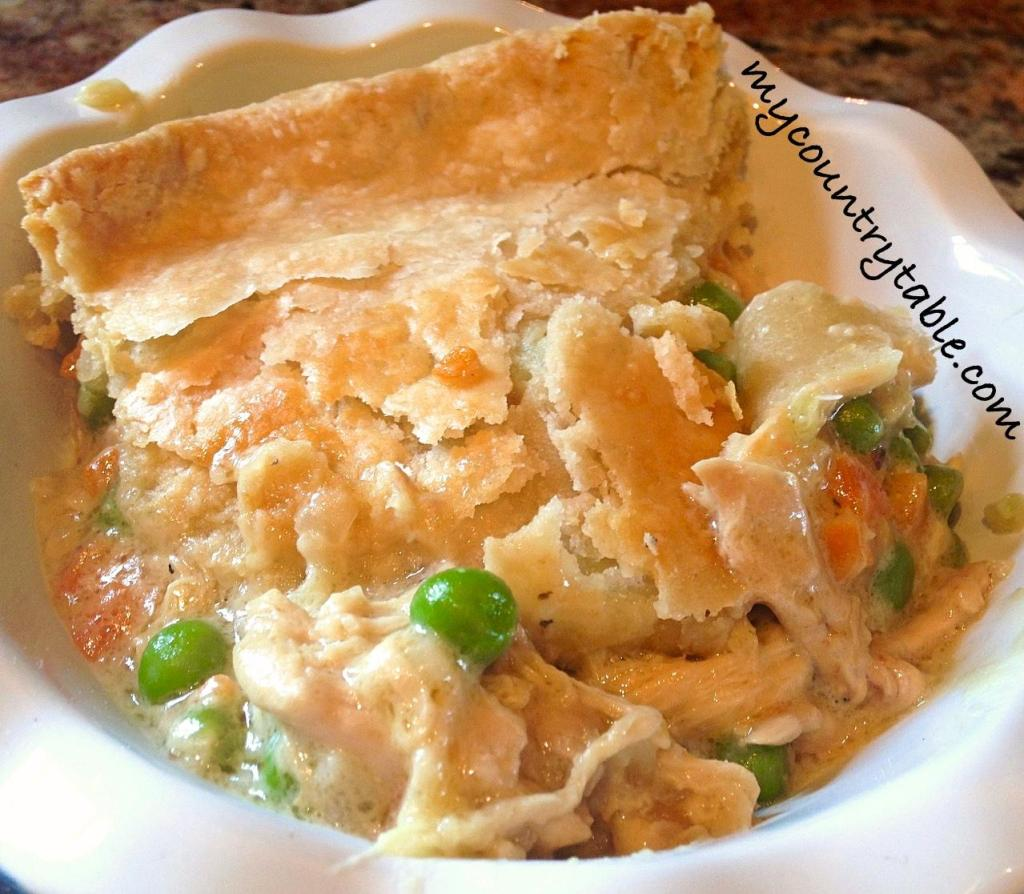 Creamy Chicken Pot Pie - My Country Table