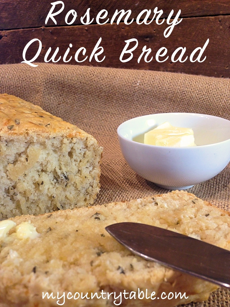 Rosemary Quick Bread
