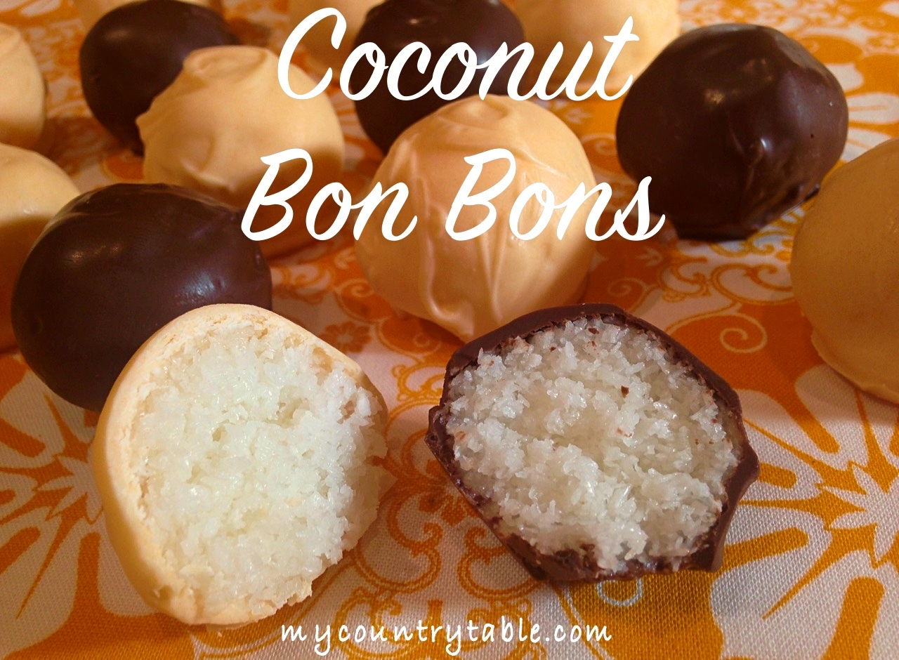 Coconut Bon Bons #1
