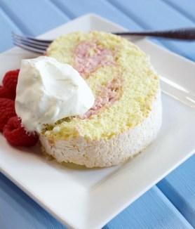 Raspberry Swirl Jelly Roll