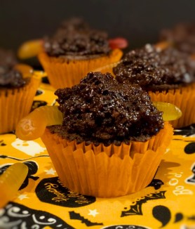 Muddy Nightcrawler Cupcakes