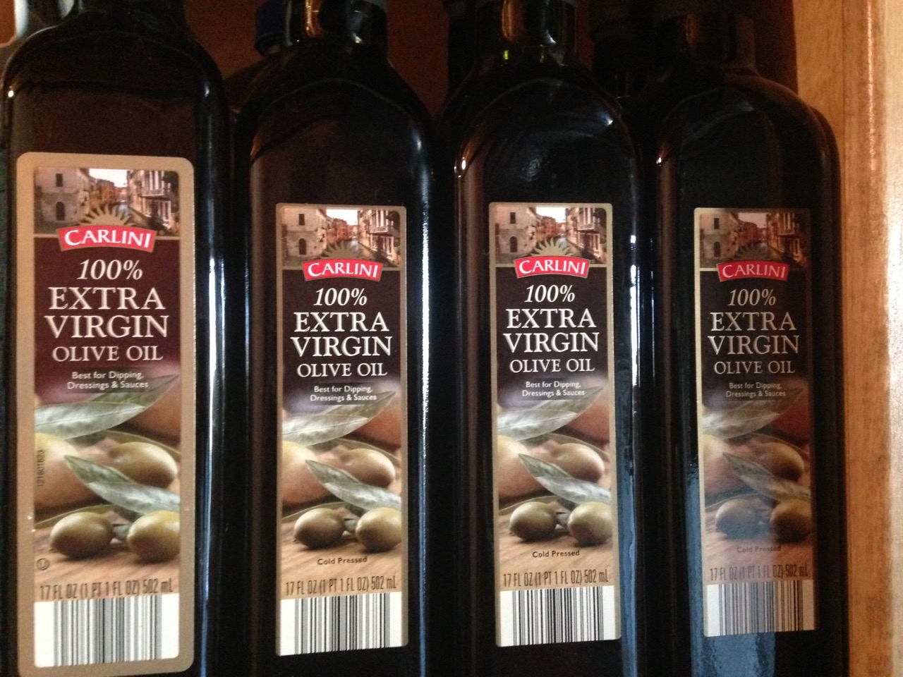Table Talk – What can I do with 16 bottles of old Extra Virgin Olive Oil?