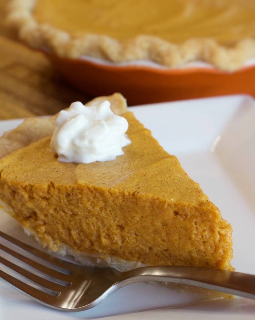 Pumpkin Chiffon Pie - My Country Table