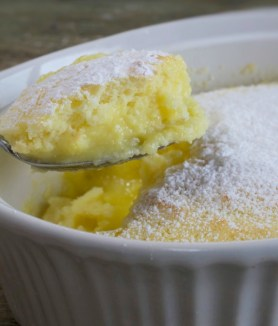 Lemon Cake Custard