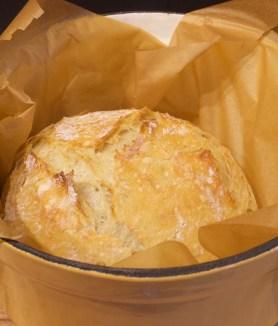 No Knead Rustic Artisan Bread