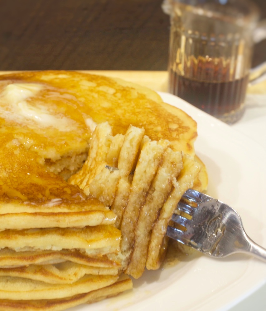 Sour cream buttermilk pancakes my country table these sour cream buttermilk pancakes are one of the first recipes i posted on my blog however with mothers day soon approaching and because my recipe ccuart Choice Image