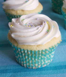 Vanilla Cream Cheese Cupcakes
