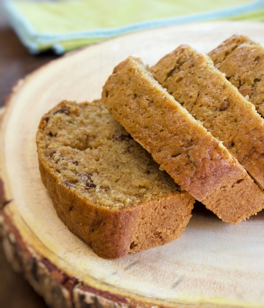 moist pecan zucchini bread  my country table