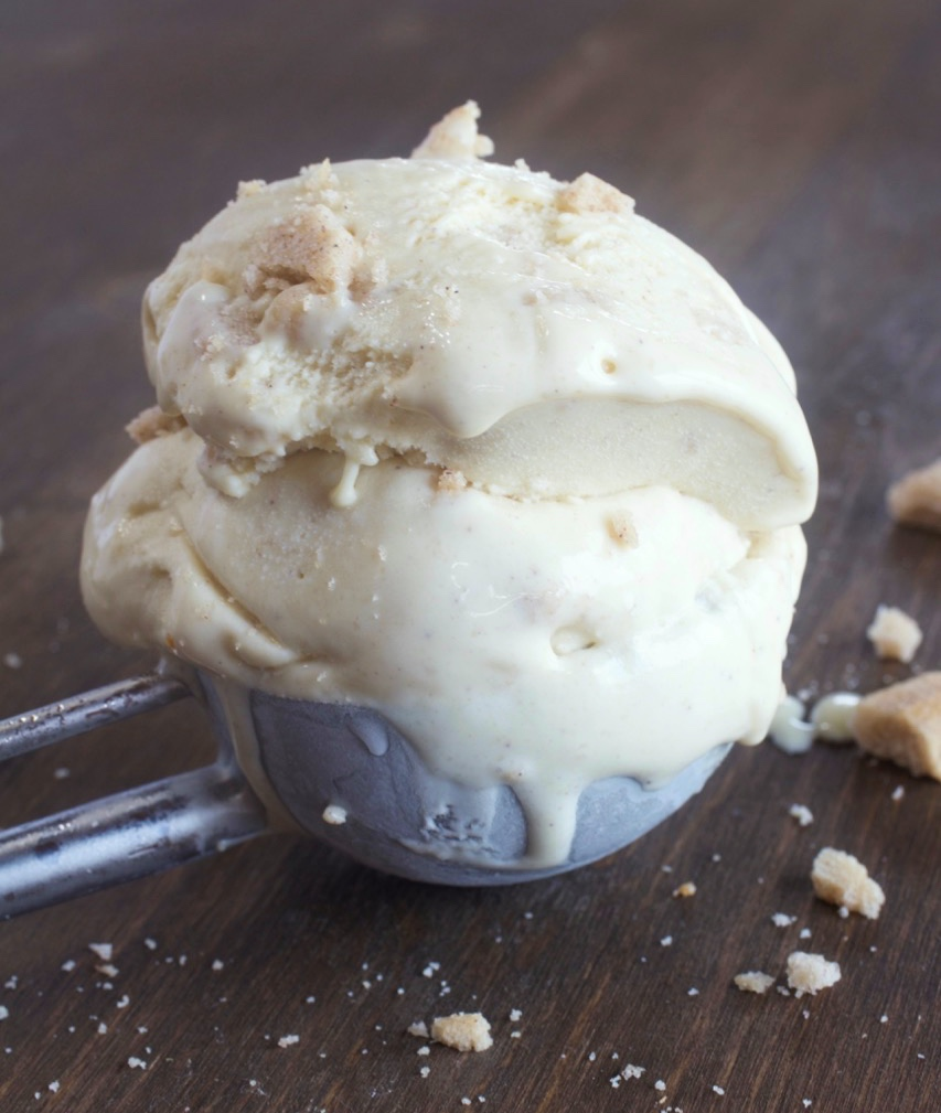 Maple Cinnamon Crunch Ice Cream
