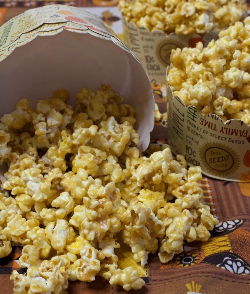 Vanilla Caramel Corn