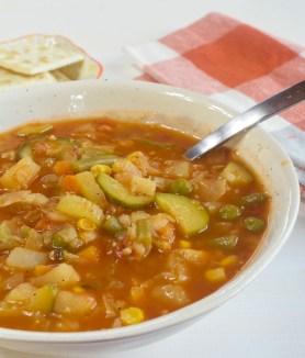 Vegetarian Vegetable Barley Soup