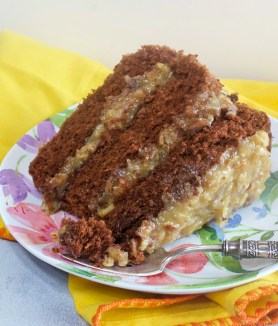 Authentic German's Chocolate Cake