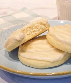 Softbatch Vanilla Sugar Cookies with Butter Icing