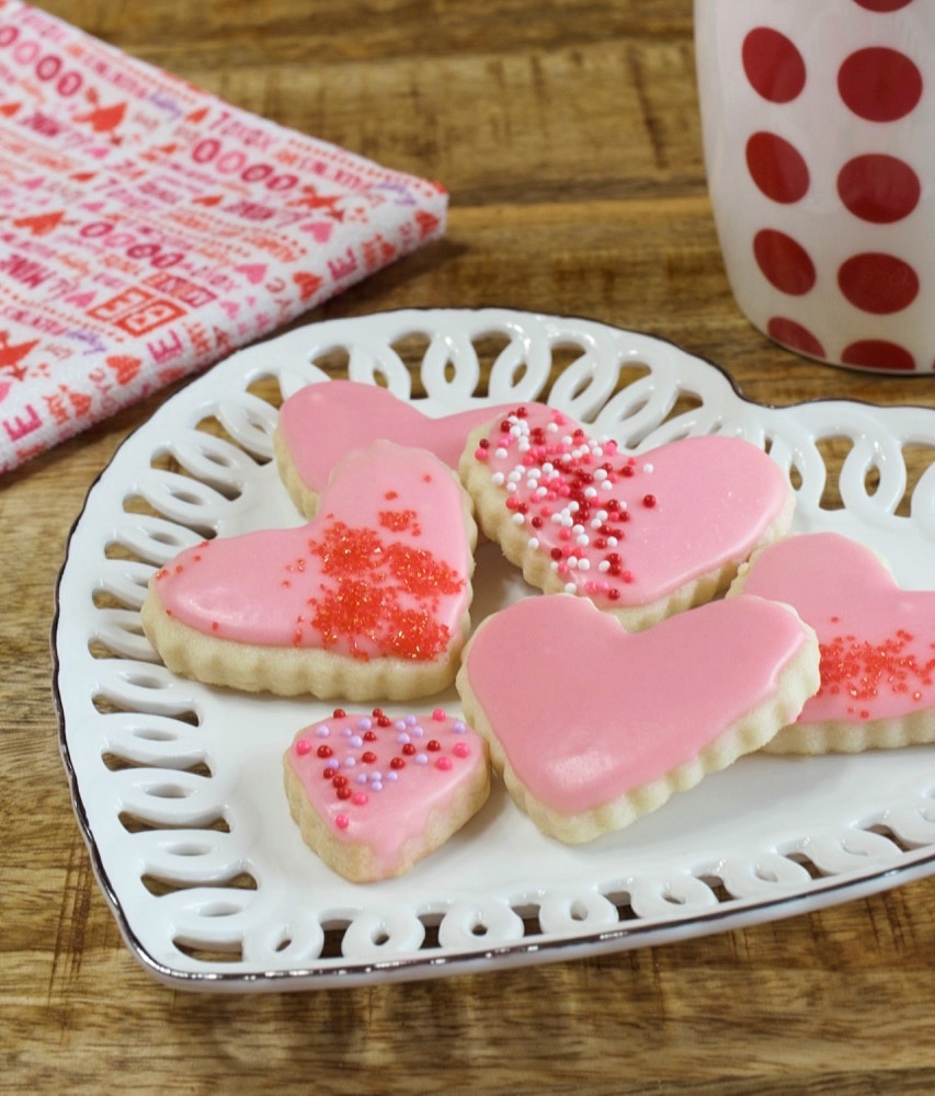 Valentine Butter Cookies