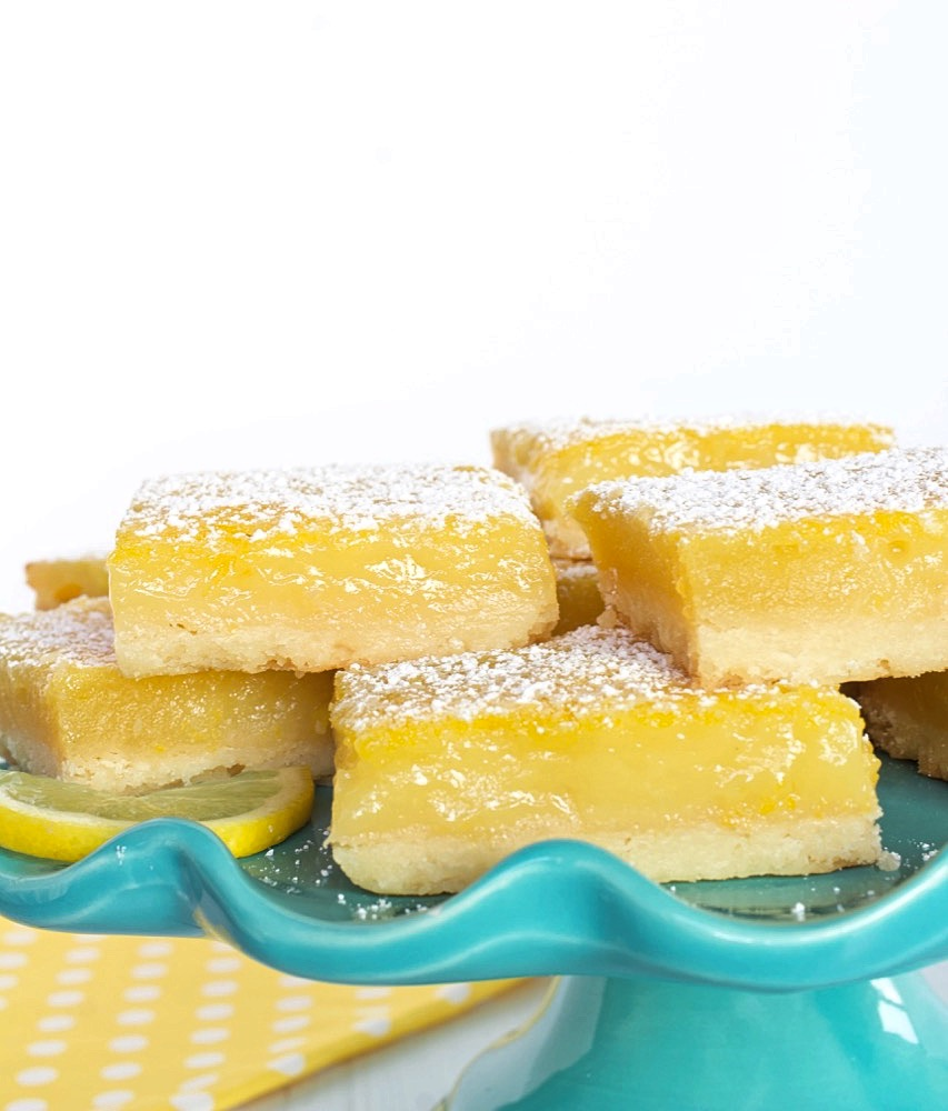Lemon Bars with Tender Shortbread Crust