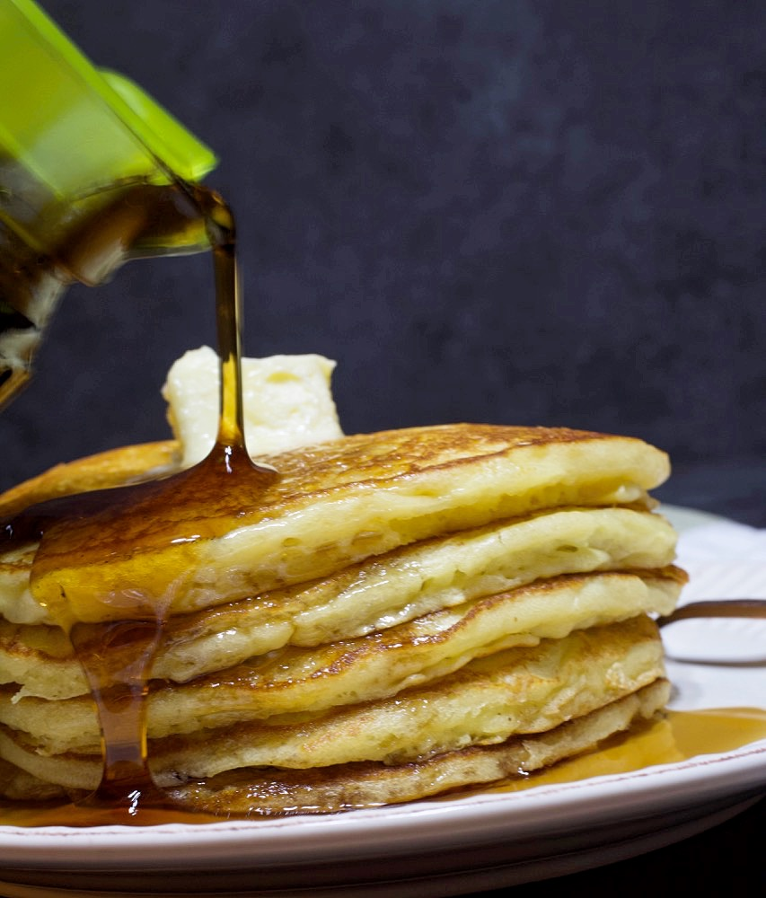Sour Cream Buttermilk Pancakes
