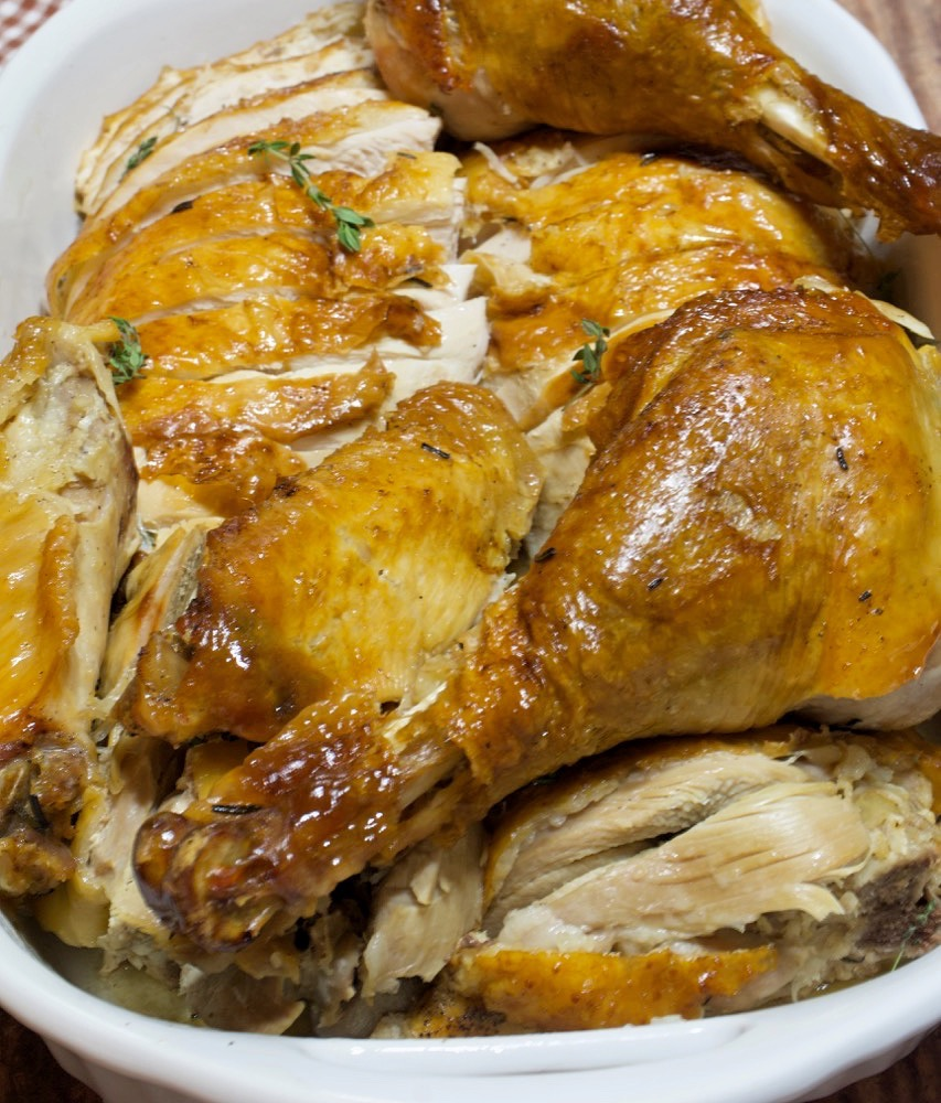 Moist & Juicy Make-Ahead Turkey