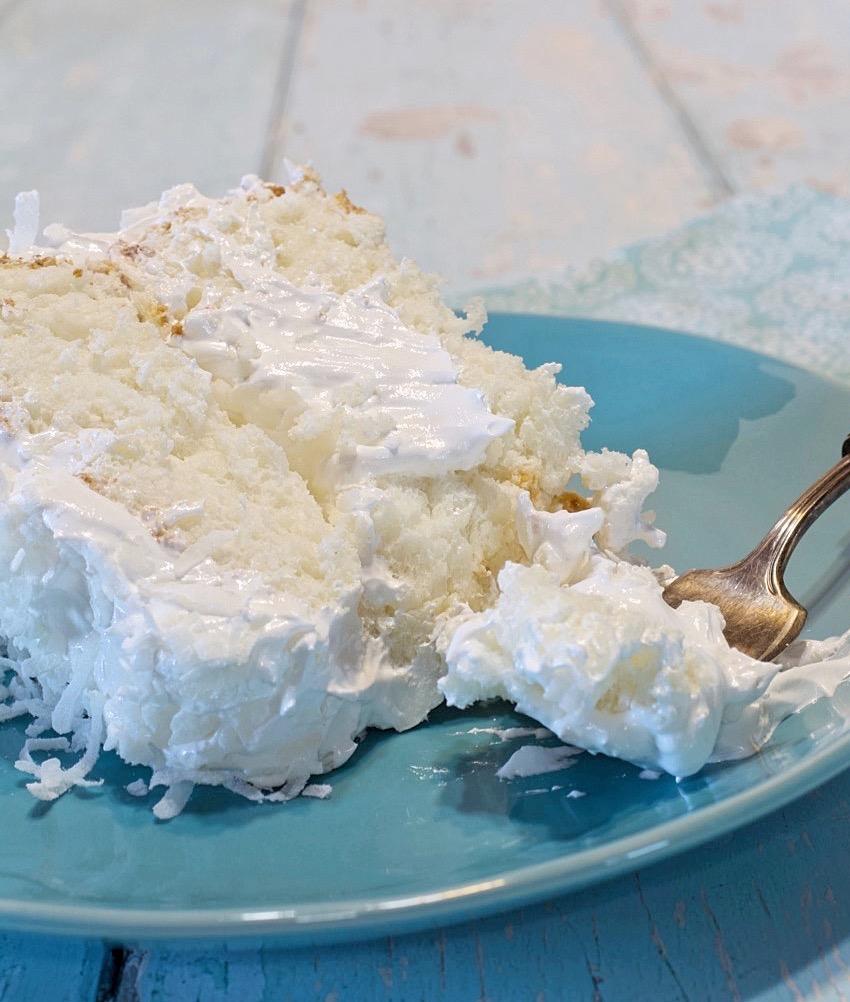Coconut Cloud Cake