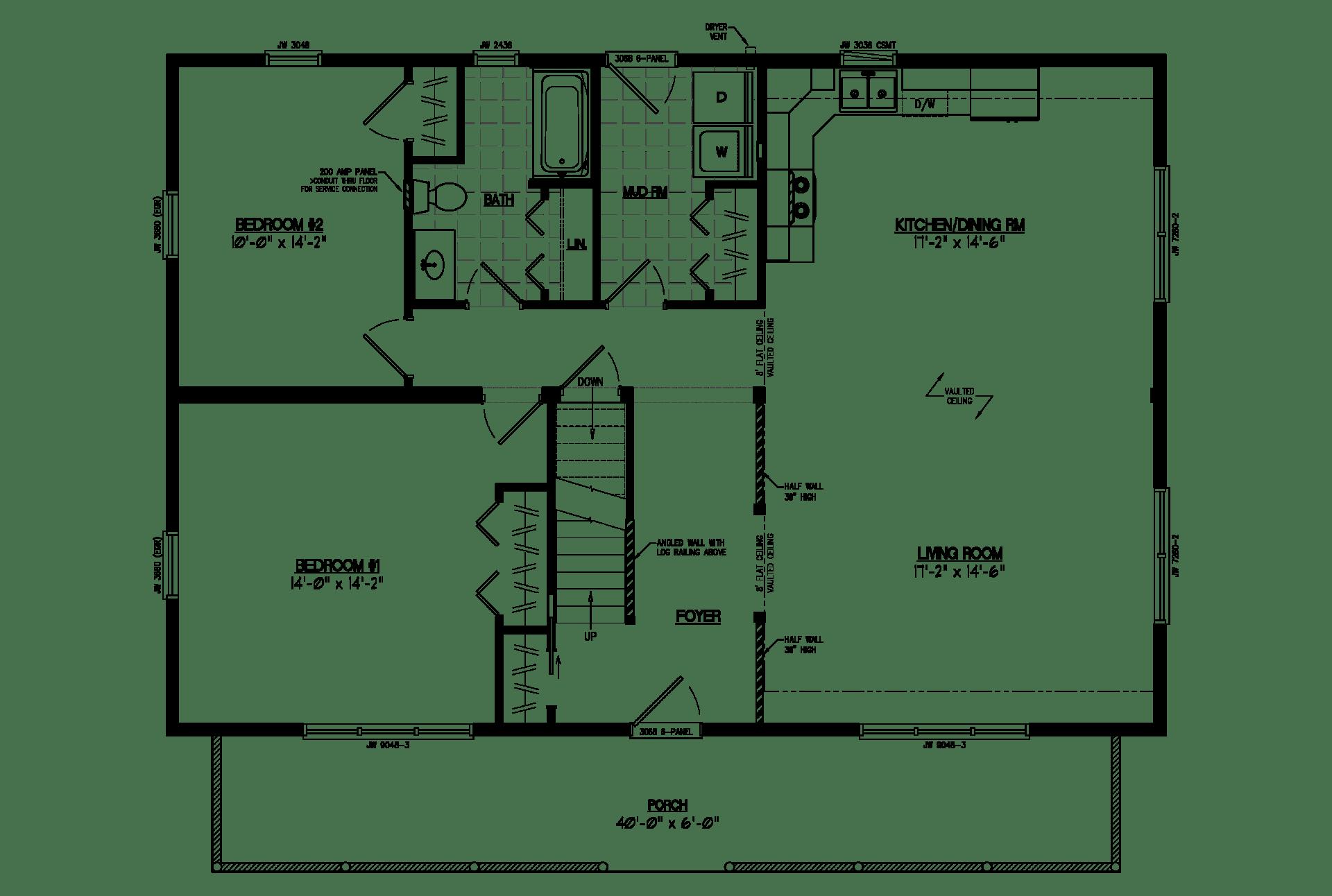 New cape cod floor plans with loft house floor ideas for Cape cod floor plans with loft