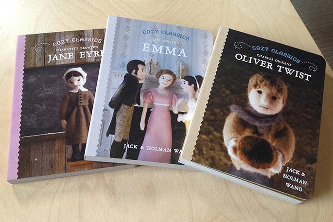 Cozy Classics - advance copies - Jane Eyre, Emma, Oliver Twist