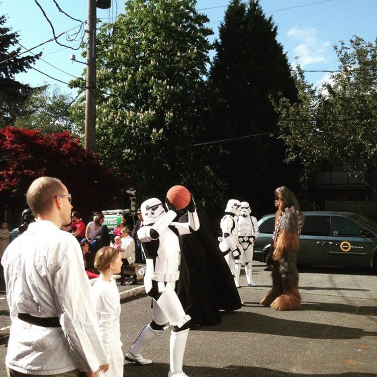 Star Wars Epic Yarns Book Launch - Stormtroopers Ballin' 2
