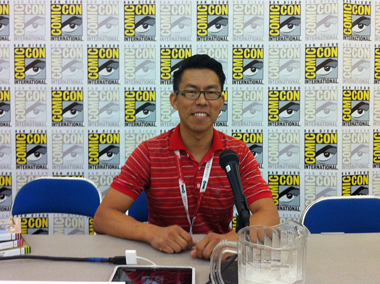 19 - San Diego Comic Con 2015 - Star Wars Epic Yarns - Panel Presentation - Holman Wang