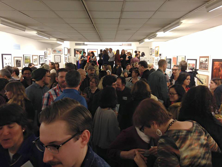 06_The_Original_Art_Society_of_Illustrators_Reception