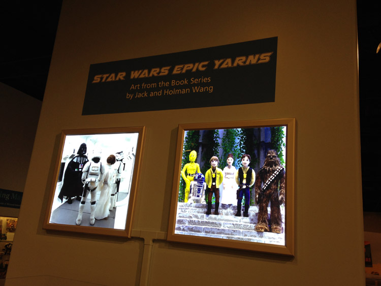Star Wars Epic Yarns - Cozy Classics - Fall Roundup 2015 - 12