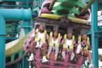 LeBron riding the Raptor