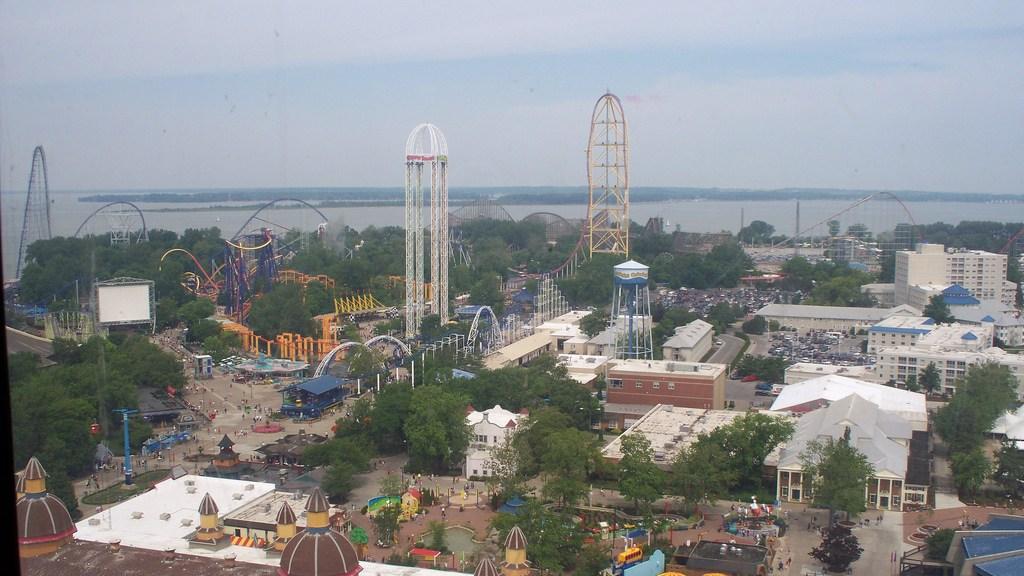 Cedar Point Skyline