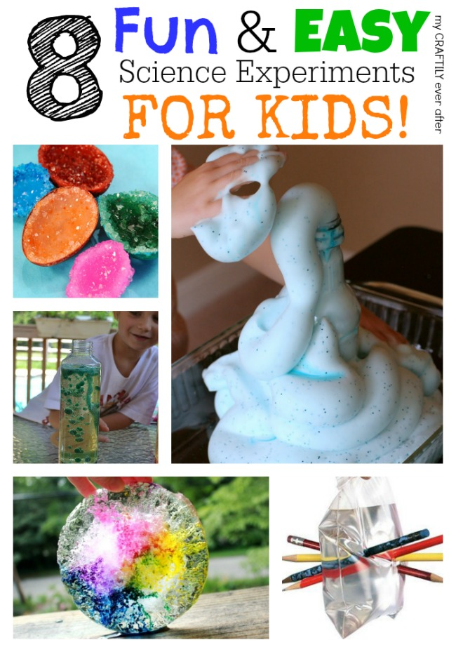 experiments science easy fun experiment projects activities cool mycraftilyeverafter kindergarten kid crafts outside preschool craftily ever