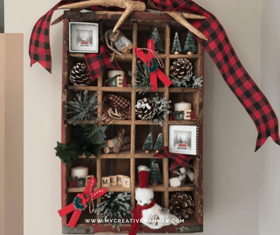 Christmas Coke Crate