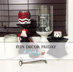 Fun Decor Friday – Baby It's Cold Outside!