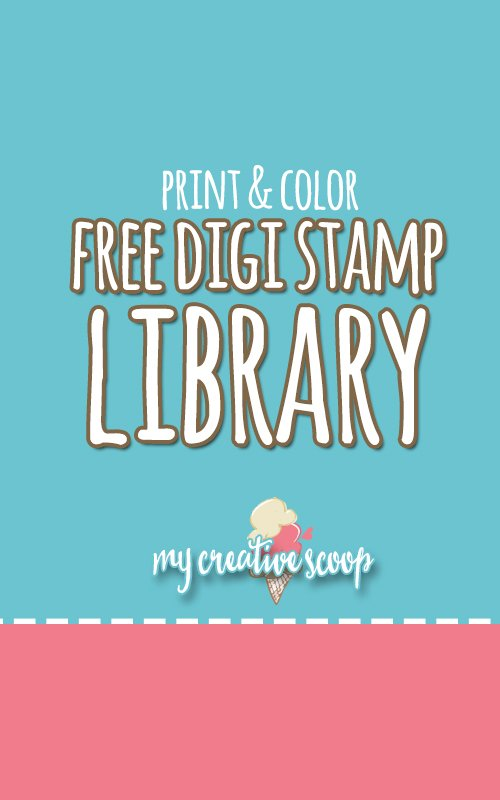 Free Digi Stamp Library - My Creative Library