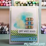 Get Well Soon Handmade Card My Creative Scoop