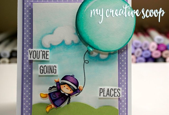 Mama Elephant - How to Create Clouds using Copic Markers