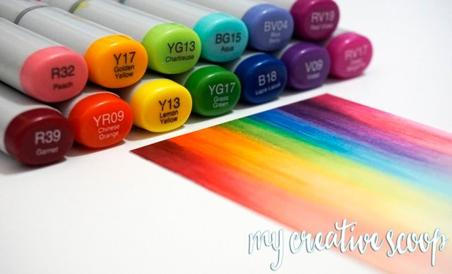 My Creative Scoop - Coloring and Card Making - Copic Markers