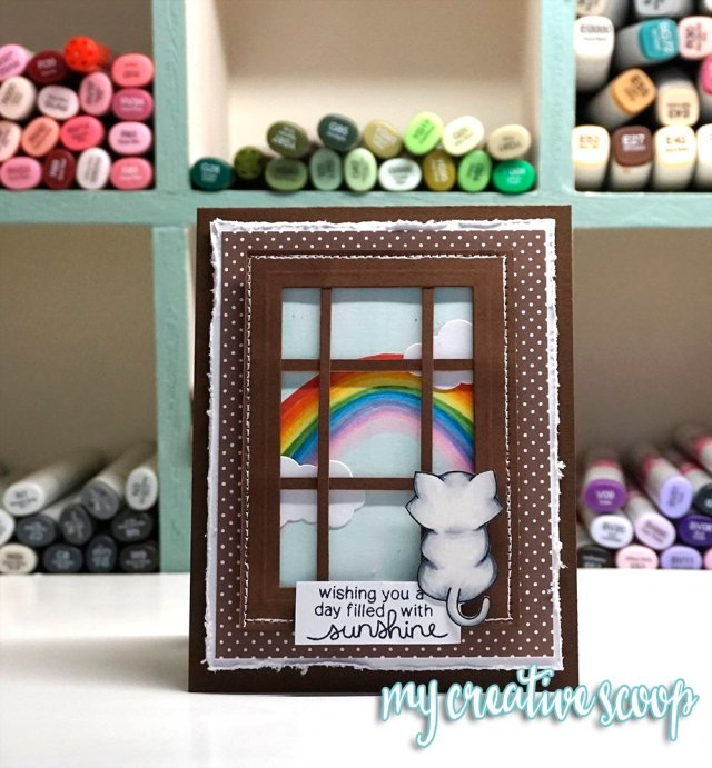 Newtons Nook -Step by Step Tutorial - How to Create a Rainbow using Copic Markers