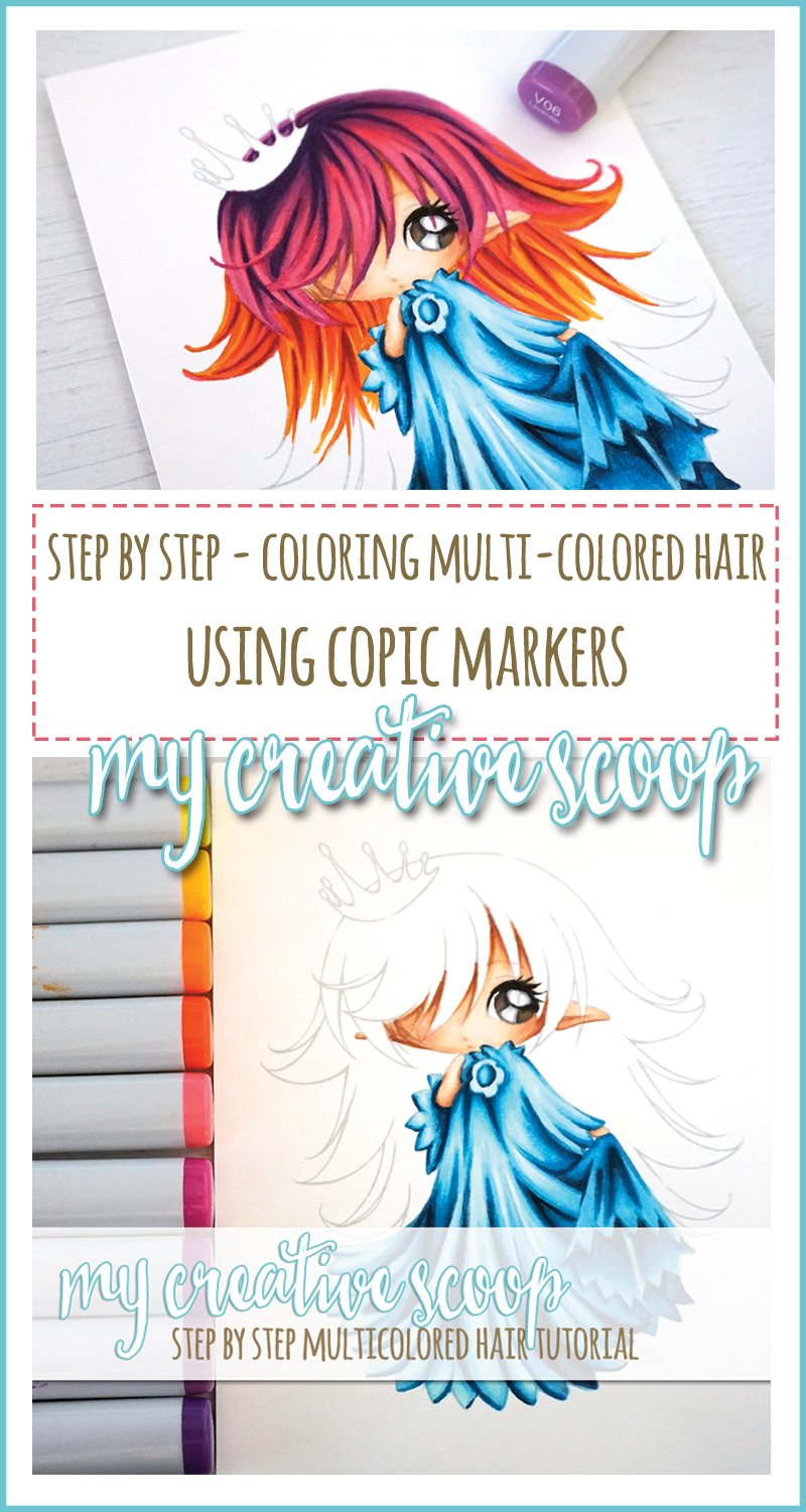 coloring-multi-colored-hair-using-copic-markers-pinterest