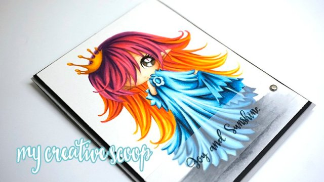 Coloring Multi-Colored hair using Copic Markers1
