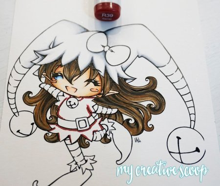 How to Color and Shade Red Copic Markers 1